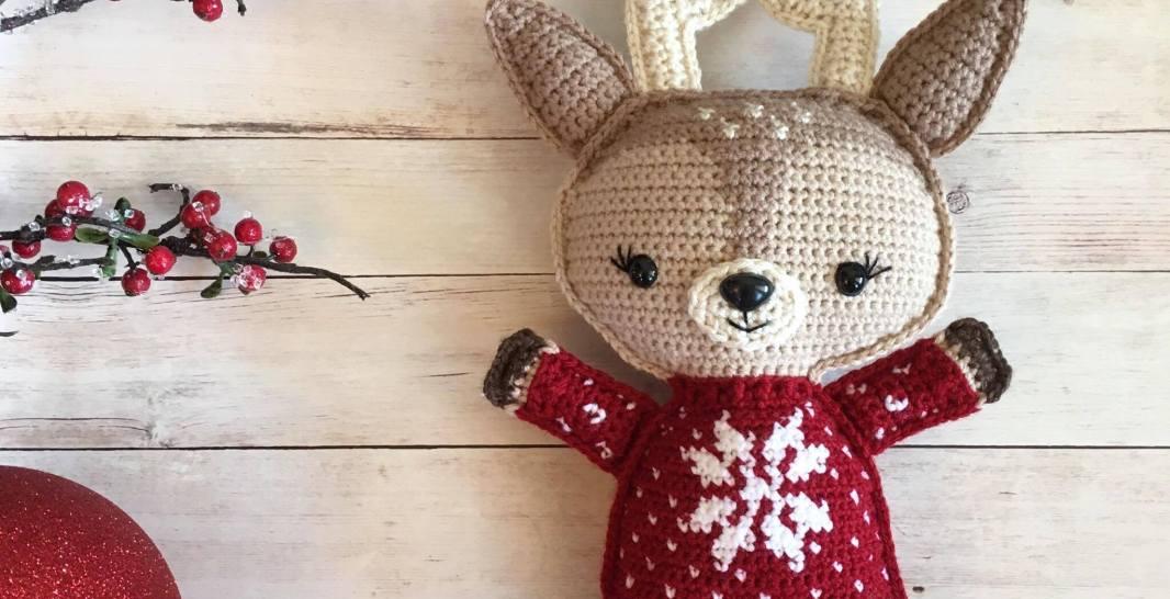 Holiday Deer Free Crochet Pattern (Part 1!) • Spin a Yarn Crochet