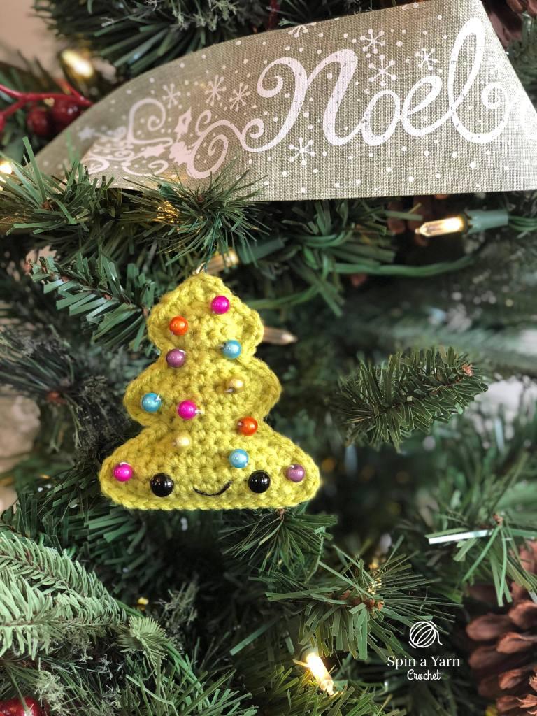 Colourful tree ornament