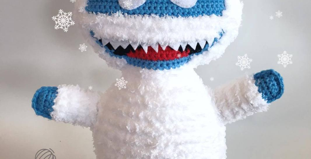 Bumble The Abominable Snowman Free Crochet Pattern Spin A Yarn Crochet