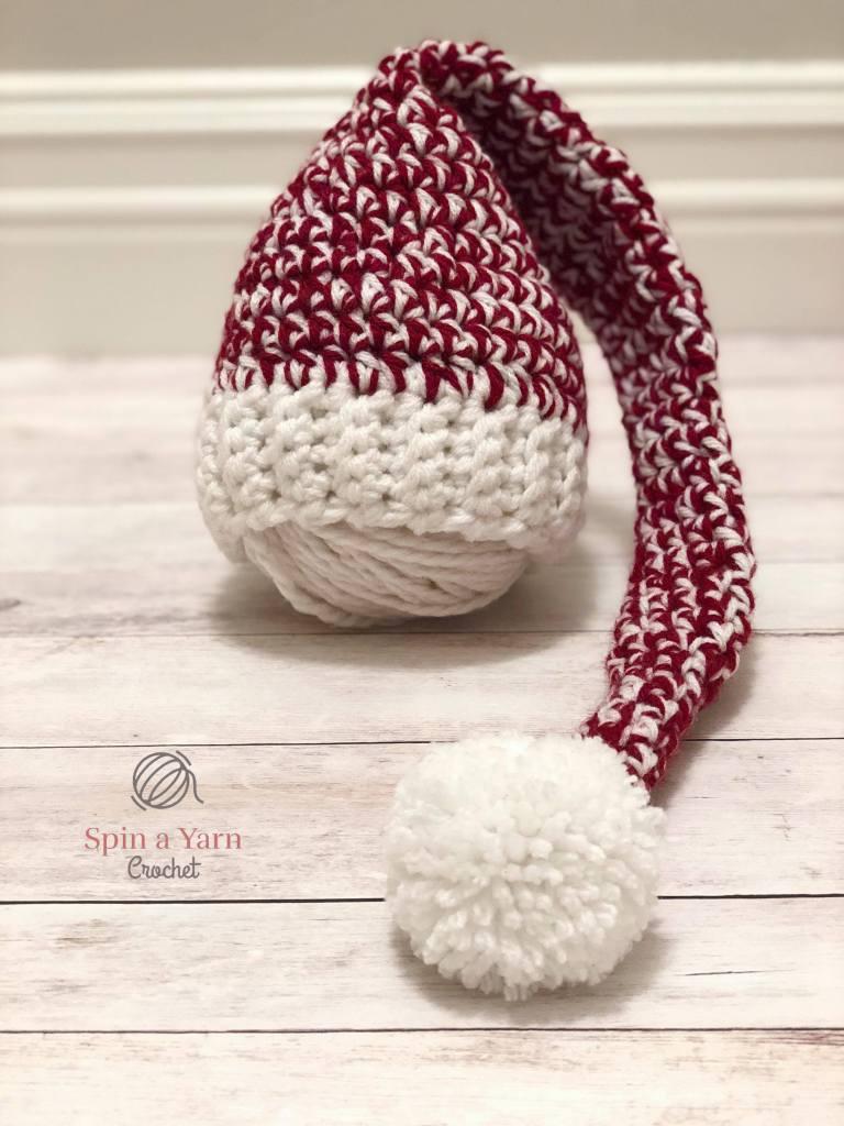 Newborn Elf Hat Free Crochet Pattern • Spin a Yarn Crochet