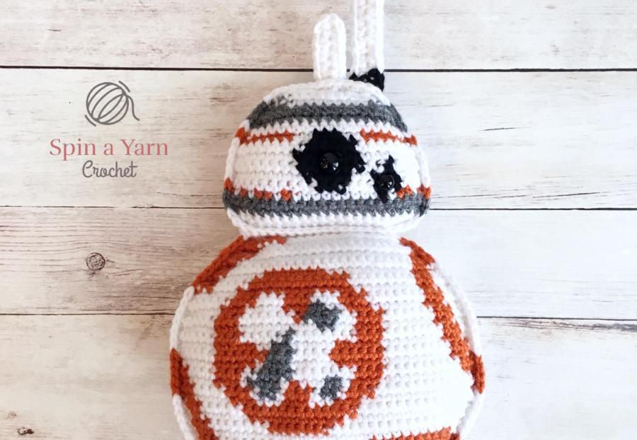 Pineapple Keychain Free Crochet Pattern • Spin a Yarn Crochet