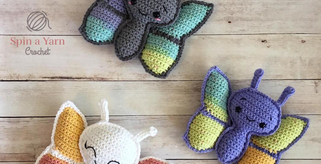 Butterfly Amigurumi Free Crochet Pattern Spin A Yarn Crochet