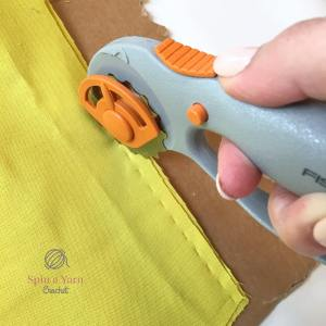 Cutting holes in lining