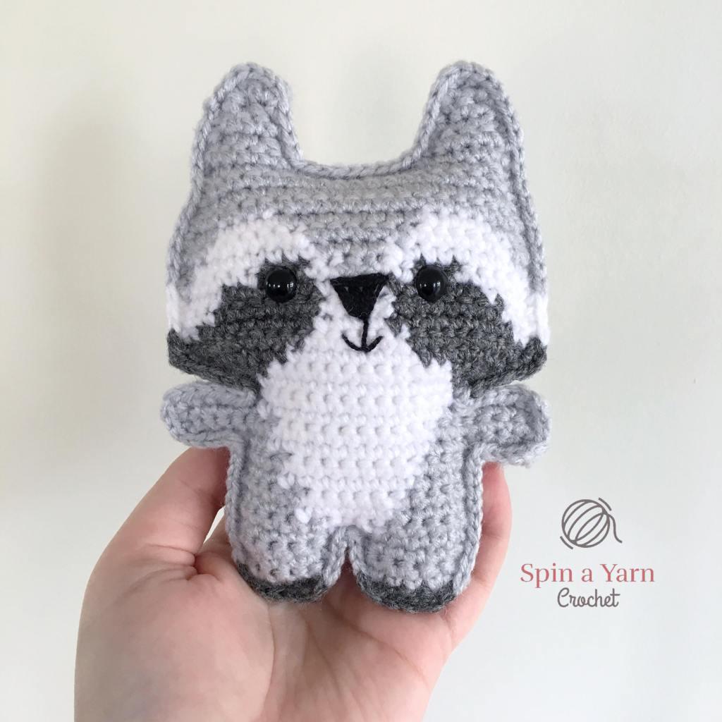 Pocket Raccoon in hand