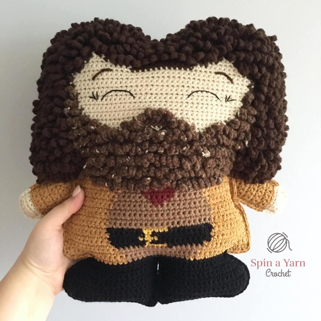 Crocheted Hagrid