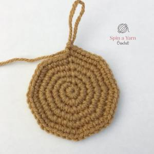 Crocheting sack
