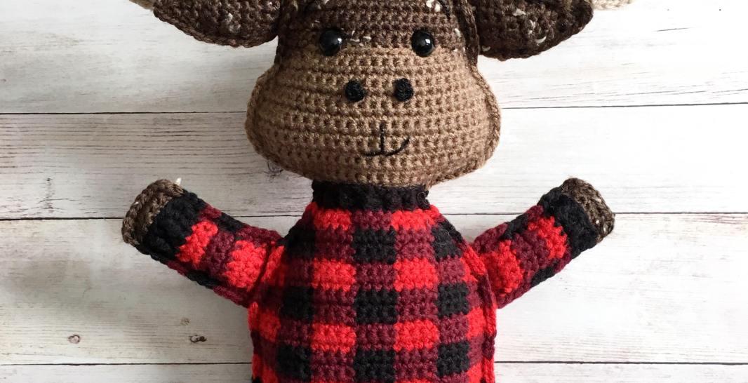 b8320d985754 Moose Amigurumi Free Crochet Pattern • Spin a Yarn Crochet