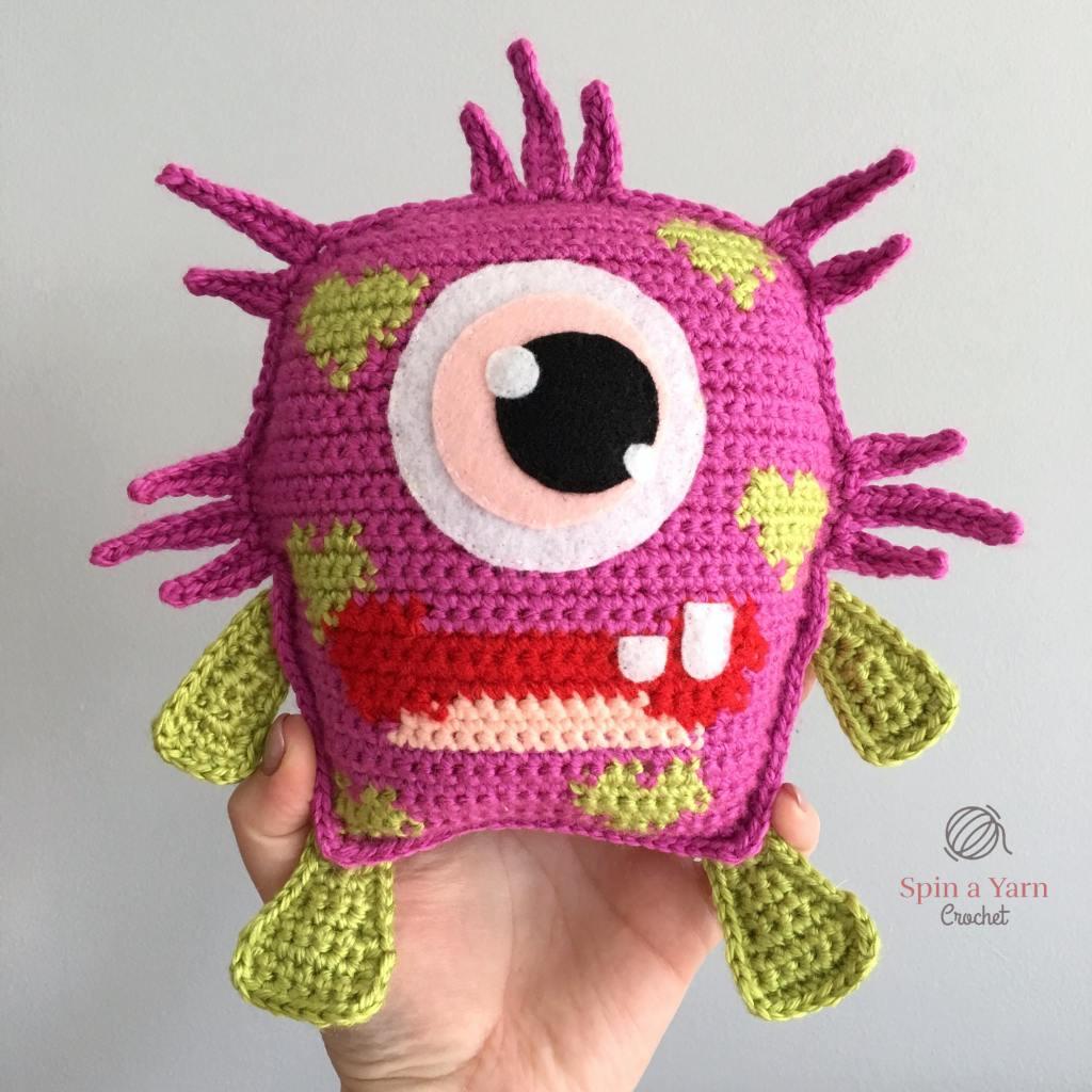 Hand holding Blinky