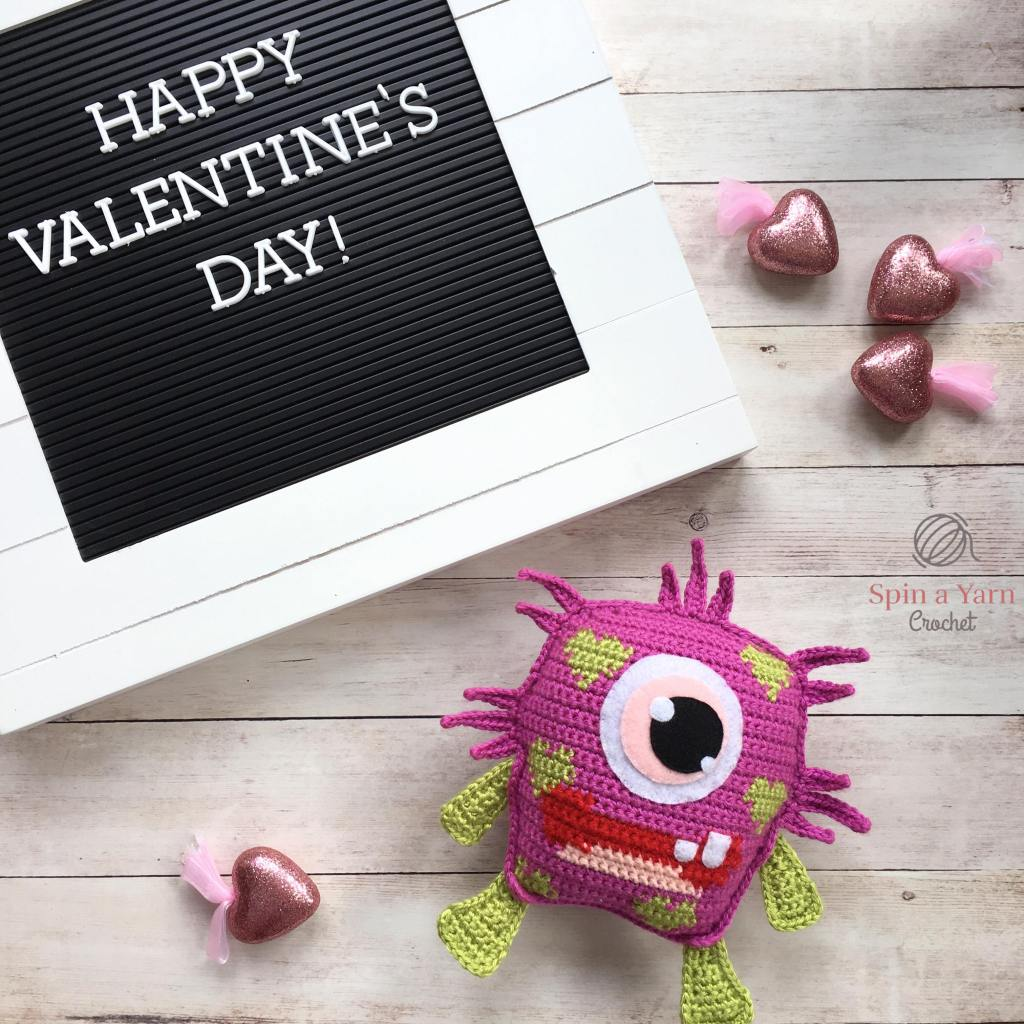 Blinky with Valentine's sign