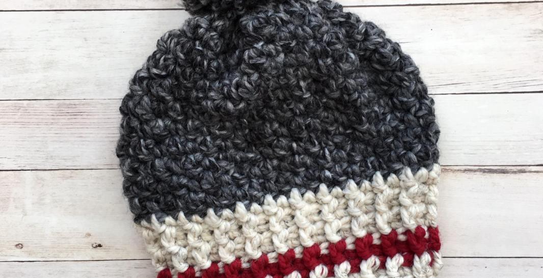 Slouchy Work Hat Free Crochet Pattern Spin A Yarn Crochet