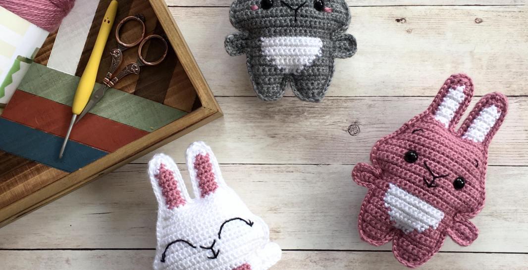 Pocket Bunny Free Crochet Pattern Spin A Yarn Crochet