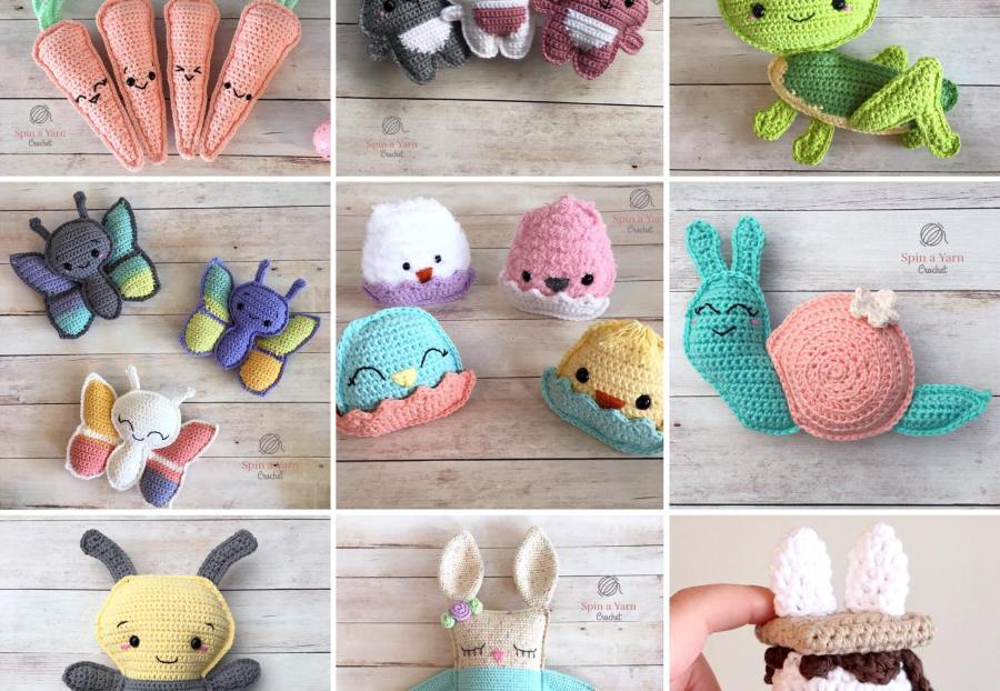 Spring and Easter crochet patterns