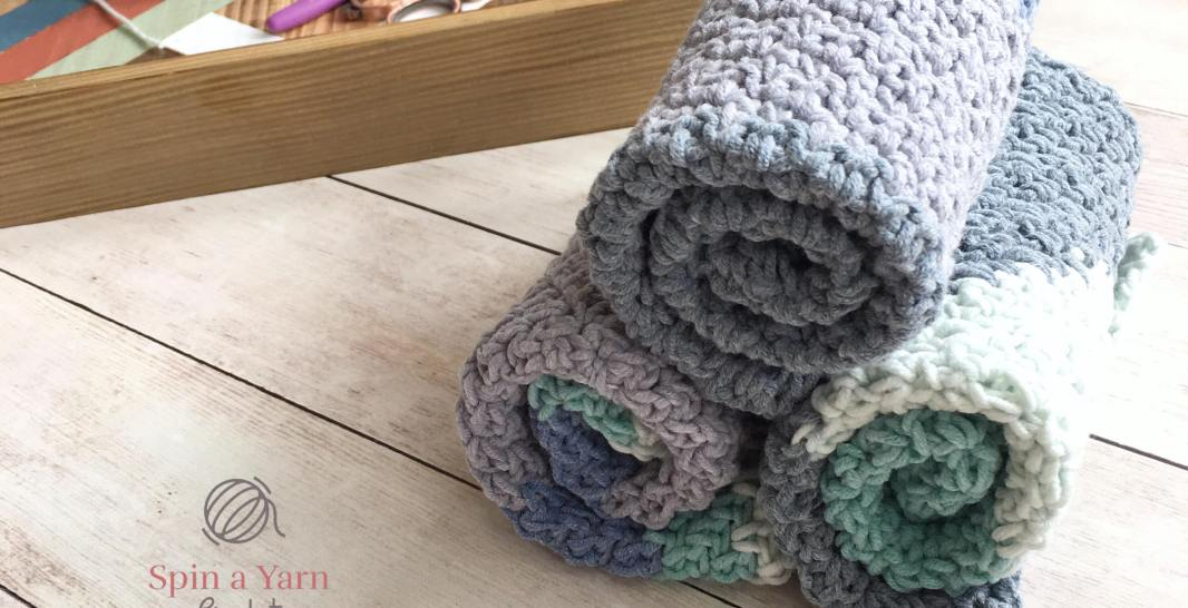Seed Stitch Washcloth Free Pattern plus Video Tutorial