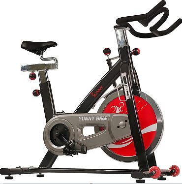 Sunny Health and Fitness SF-B1002C-Chain Drive Indoor-Cycling Bike