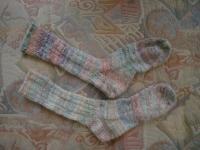 Jasmin's Jelly Beanz handspun socks