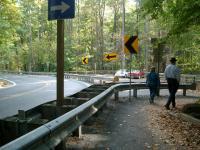 Leaving Cunningham Falls