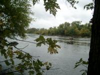 placid Potomac, above the Falls
