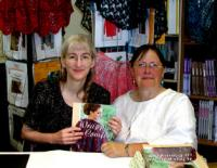 Karen and me at the booksigning last summer