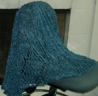 Lisa Souza's El Dorado yarn in Sapphire
