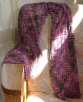 Silkie Socks that Rock, Carlsbad pattern, 43 st