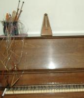 Gram\'s old upright Kimball