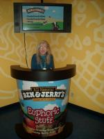 At Ben and Jerry\'s in Waterbury, VT
