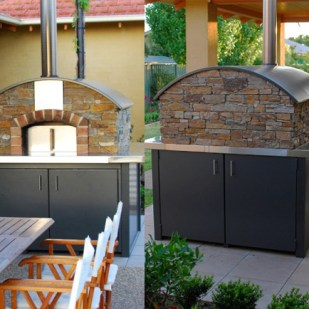 Freestanding Barrel Vault Oven