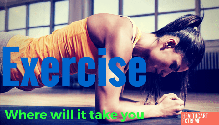 Exercise Where will it take you web