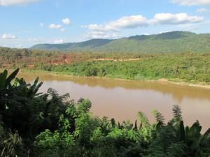 Mekong looking to Laos