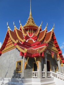Sangkhom, temple