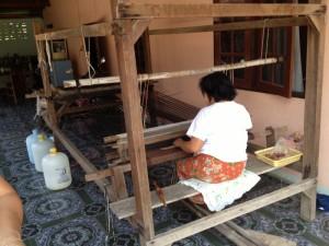 Chonnabot silk weaving