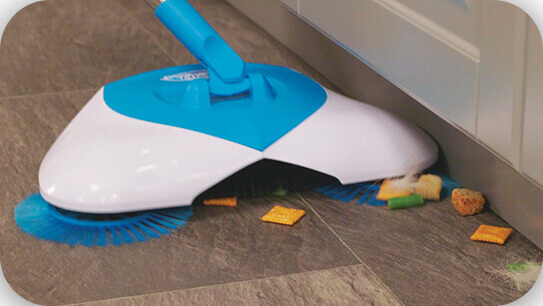 Удобный и практичный механический веник Hurricane Spin Broom