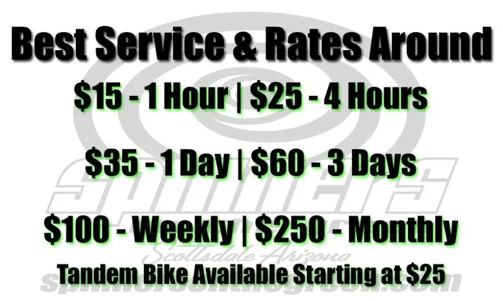 2016 Bike Rental with Tandem