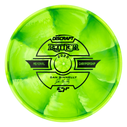 Tour Swirl ESP Rattler Green Back