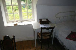 Hardy's desk
