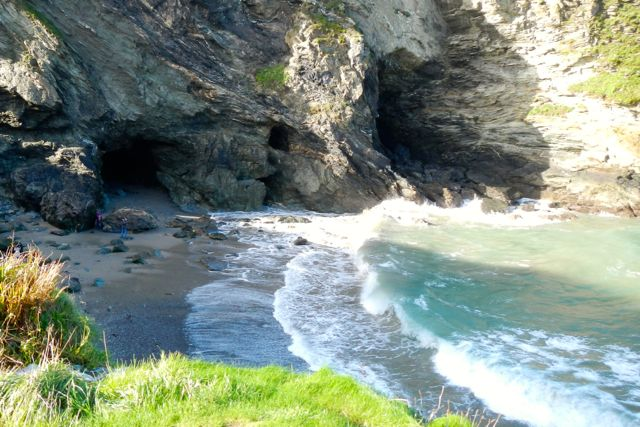 Merlin's cave (Tintagel)