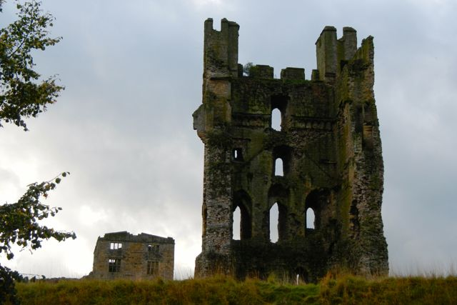 ruined castles (Helmsley)