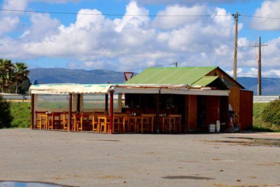 café on Illa de Arousa