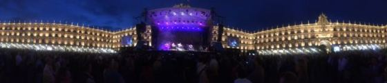 concert in the Plaza Mayor