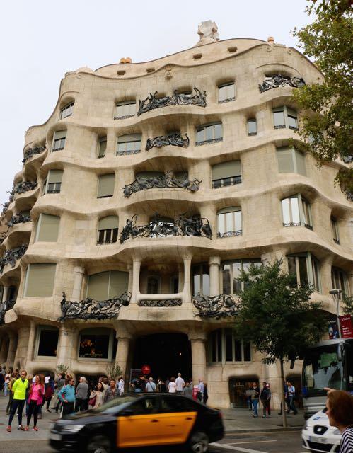 Gaudí's La Pedrera (Casa Milà)