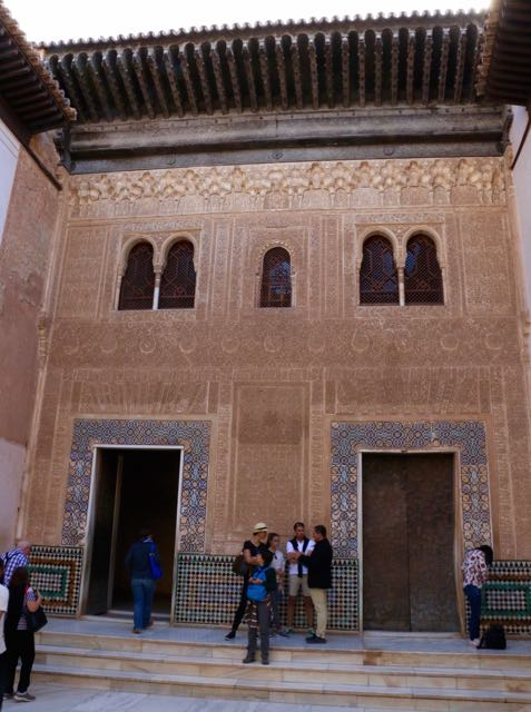 Beautiful doorways! (I cropped out as many people as I could!)
