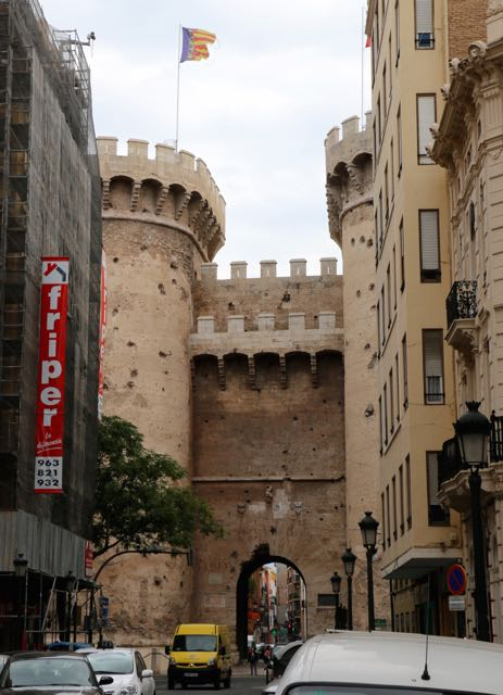 medieval gate to the old city