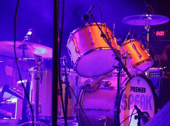 Speak's drum kit