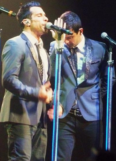 Danny Wood and Jordan Knight