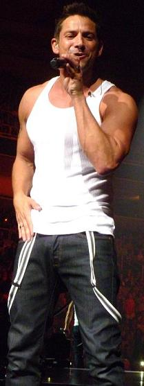 I definitely didn't mind the muscle-laden portion of 98 Degrees' program...
