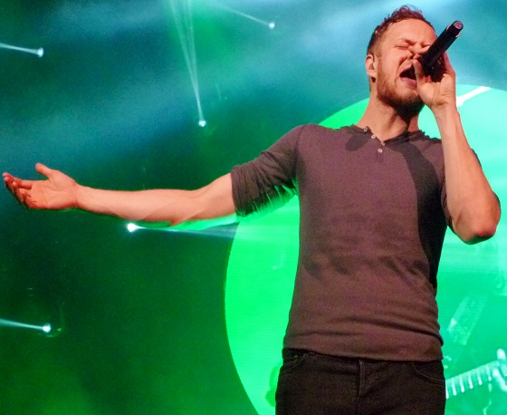 Dan Reynolds sounds even better live than he does on record.