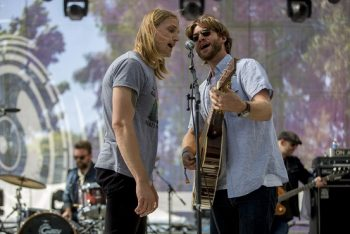 Jamestown Revival lights up the Miner Family Stage on a breezy afternoon. (Photo credit: BottleRock Napa Valley / Latitude 38 Entertainment)