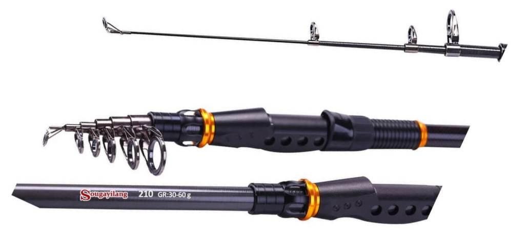 Sougayilang Telescopic Fishing Rod review