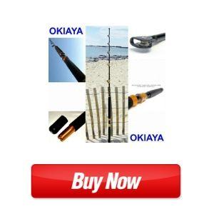 OKIAYA COMPOSIT 30-50LB The Slayer Saltwater Big Game Roller Rod
