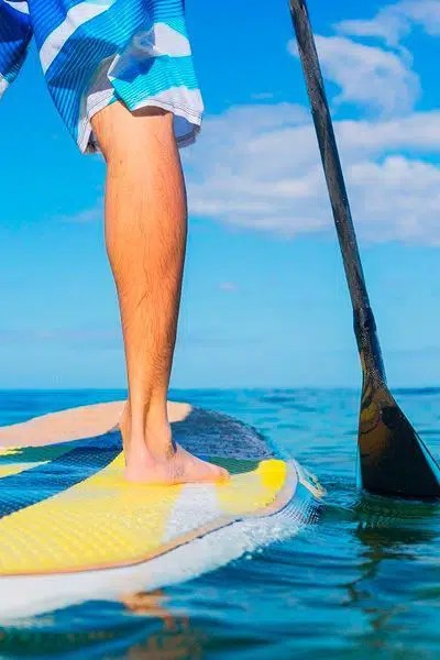 Curso de paddle Sup en la manga